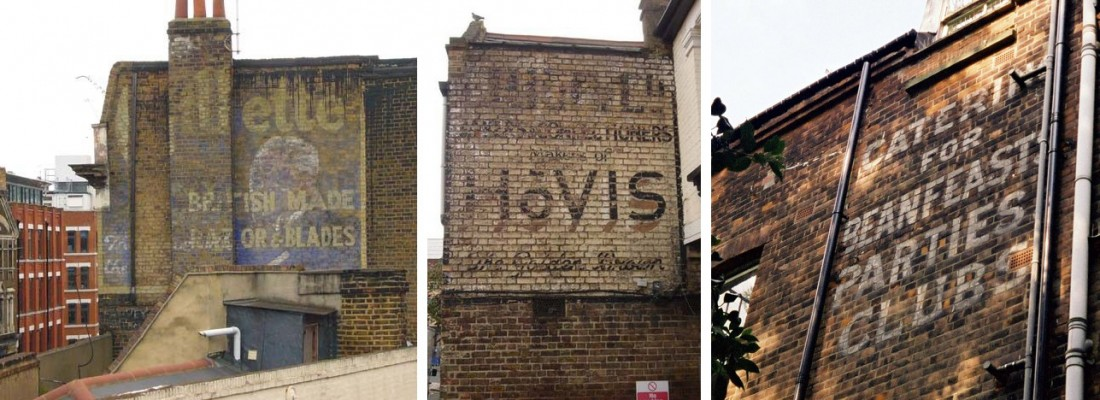 Ghost Signs – A talk at St Bride by Sam Roberts