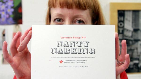 Zoe Chan Typelark letterpress