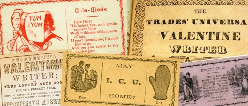 How to find love in the 19th Century: Valentine Writers and Flirtation Cards