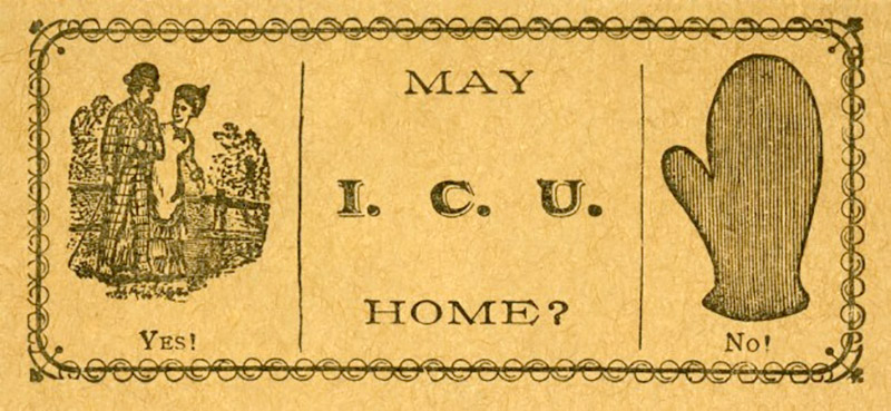 May I C U Home? card