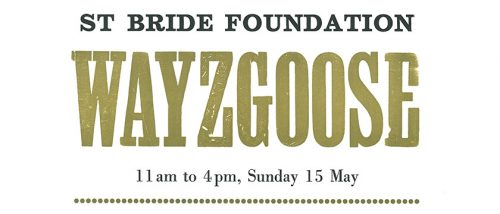 St Bride Foundation Wayzgoose 2016