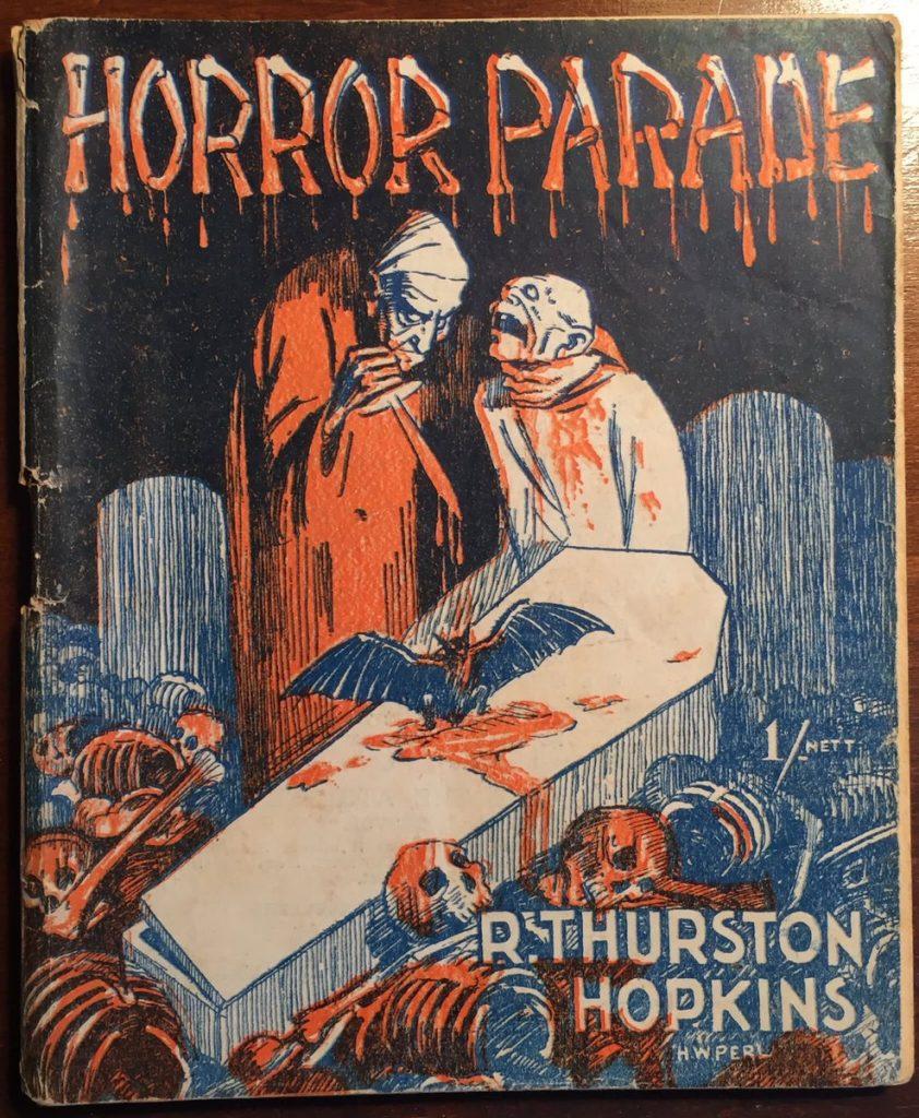 Horror Parade by R Thurston Hopkins, 1945 via @JAStokesNJ
