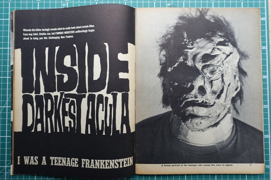 Spread from Famous Monsters of Filmland magazine via @JakeTilson