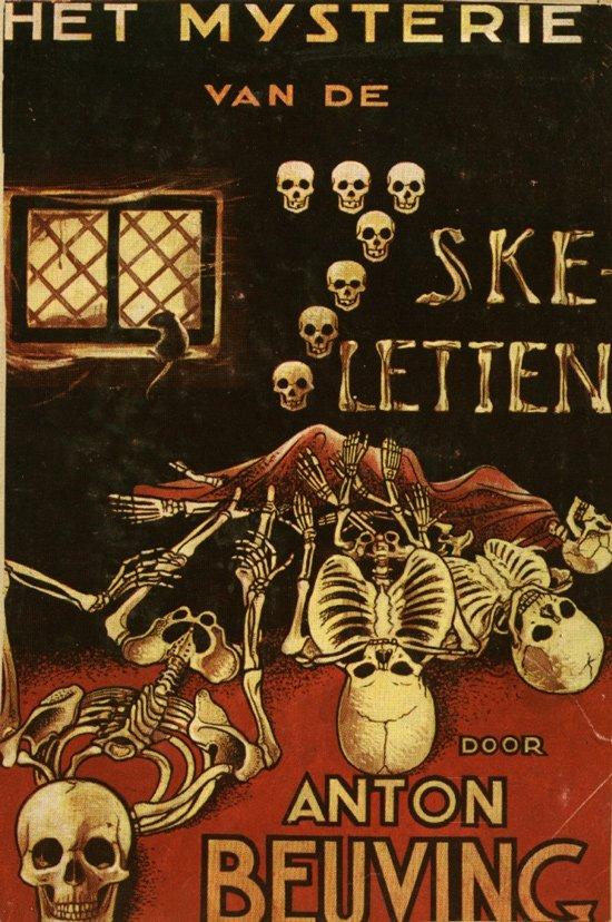Het Mysterie van de Zeven Skeletten, by Anton Beuving, 1953 via @NeoPteridoMania