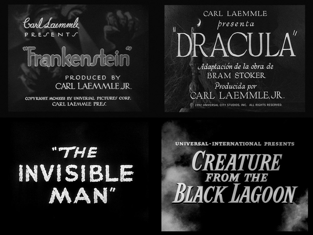 Various Classic Horror Film Titles via @philipkennedy